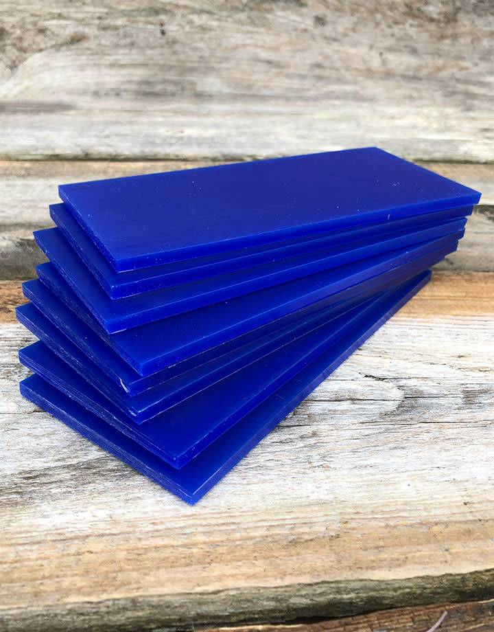 Du-Matt 21.02784 = DuMatt Blue Carving Wax Tablets Set of 8