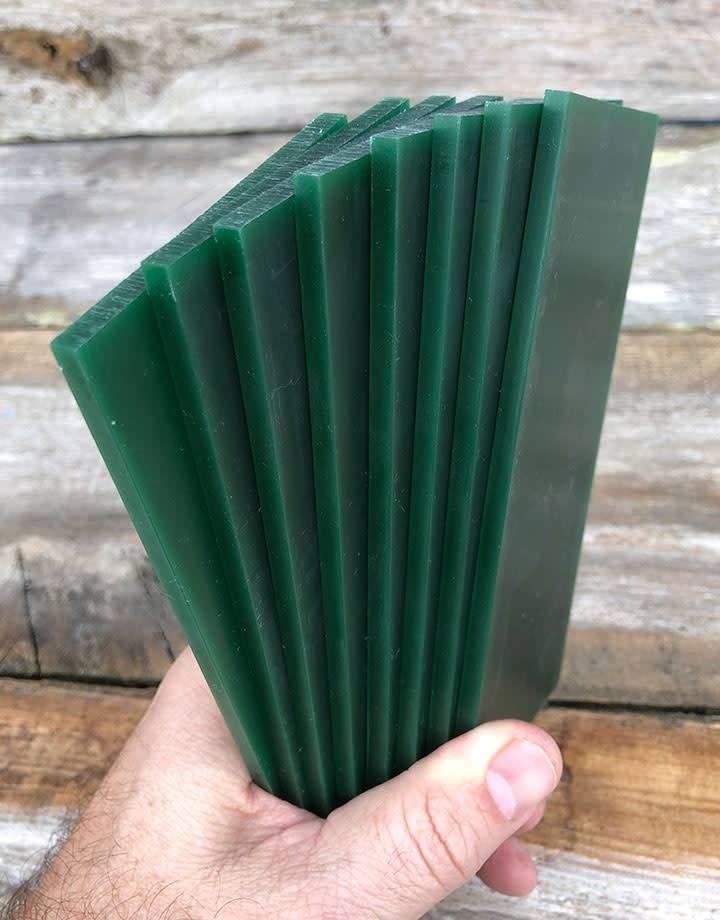 Du-Matt 21.02786 = DuMatt Green Carving Wax Tablets Set of 8