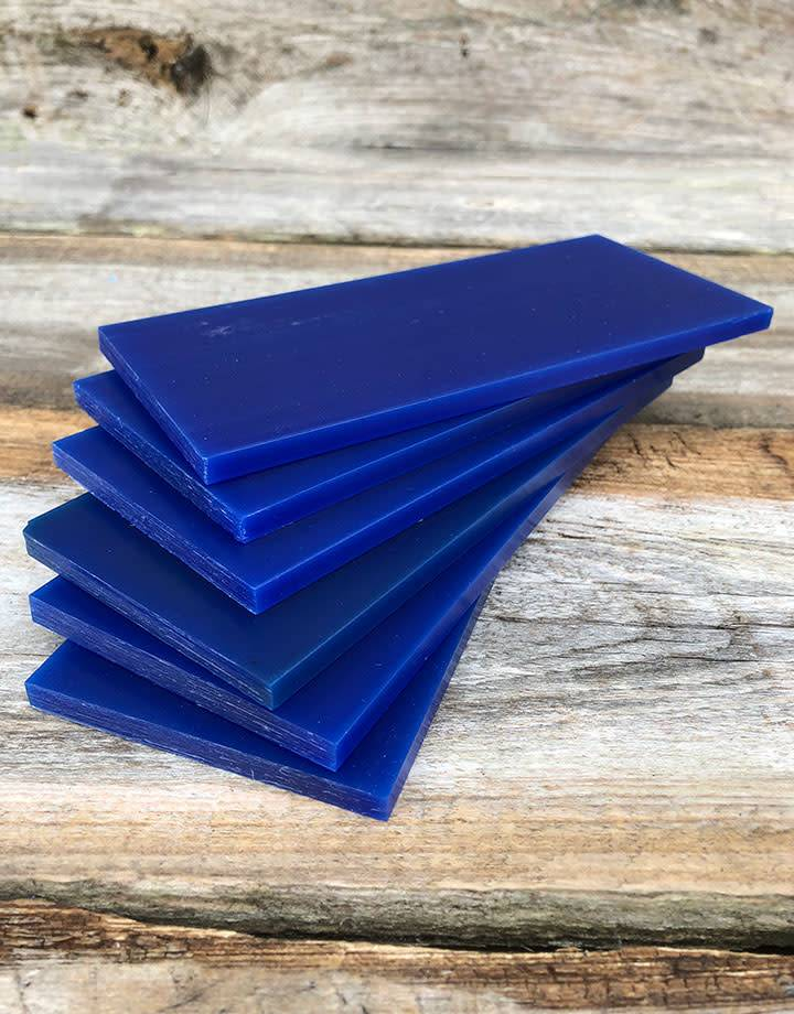 21.02787 = DuMatt Blue Carving Wax Tablets Set of 6