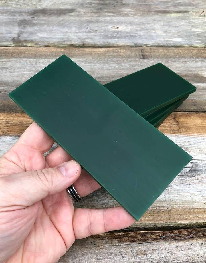 Du-Matt 21.02789 = DuMatt Green Carving Wax Tablets Set of 6