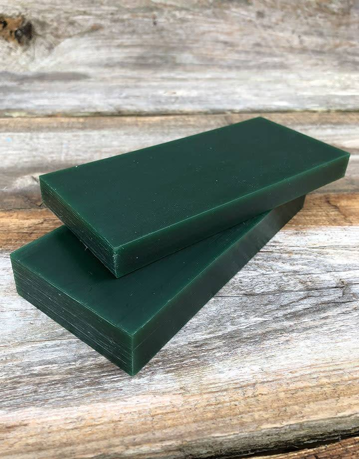21.02792 = DuMatt Green Carving Wax Tablets Set of 2