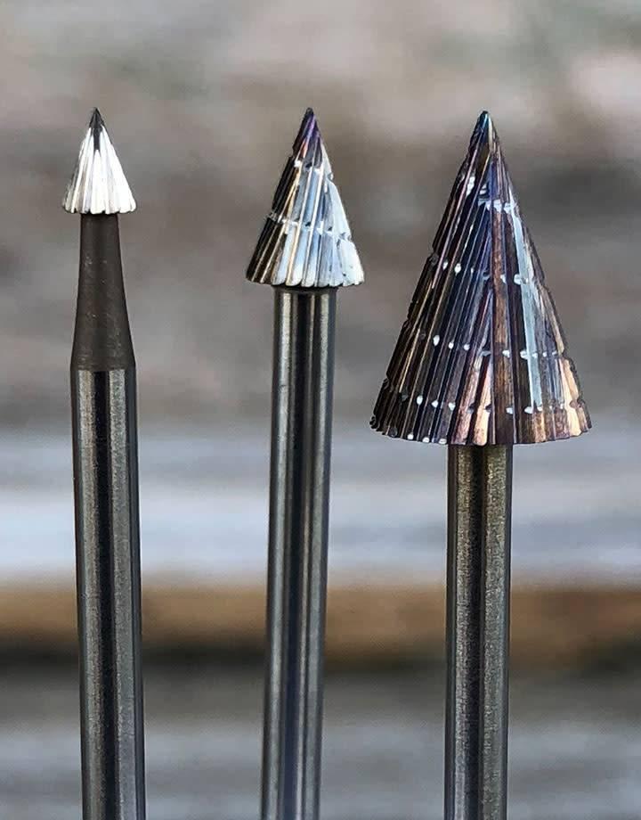 High Speed Steel Cone Bur (Choose Size)