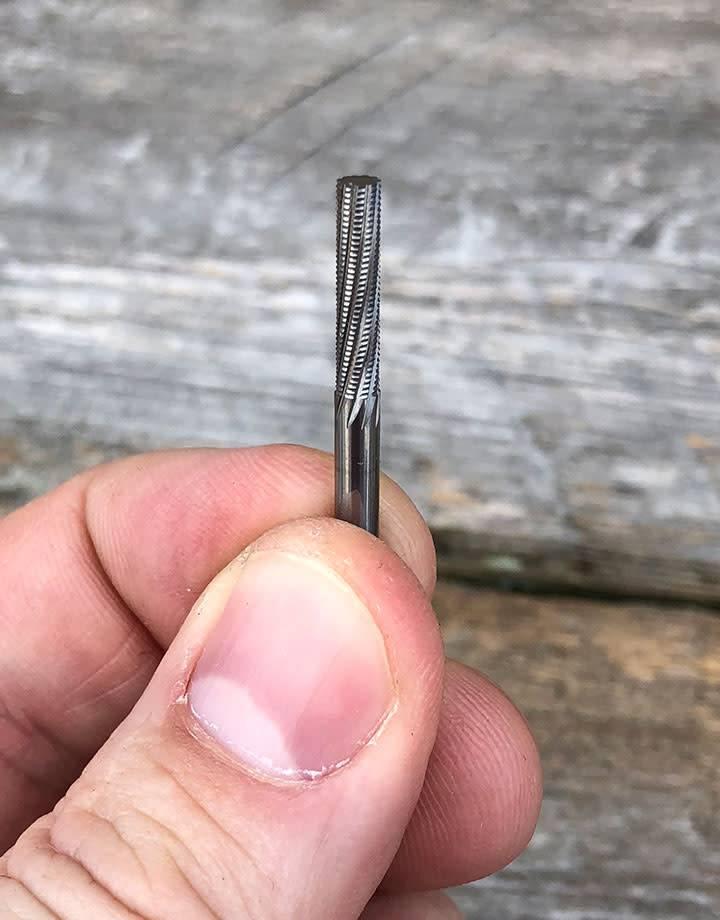 18.951 = BUR - CYLINDER CARBIDE FLORENTINE BUR 3.2mm