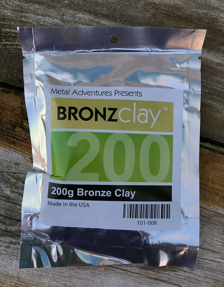 MCB200 = BRONZclay 200g Package