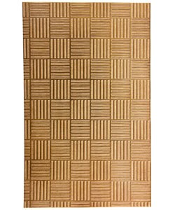 "CSP225 Patterned Copper Sheet 2-1/2"" Wide"