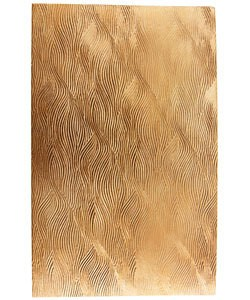 "CSP239 Patterned Copper Sheet 2-1/2"" Wide"