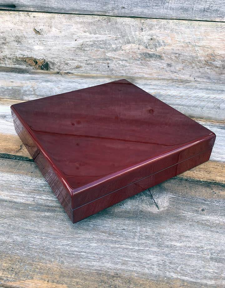 DBX4007 = BOXES - ROSEWOOD NECKLACE ( EACH)