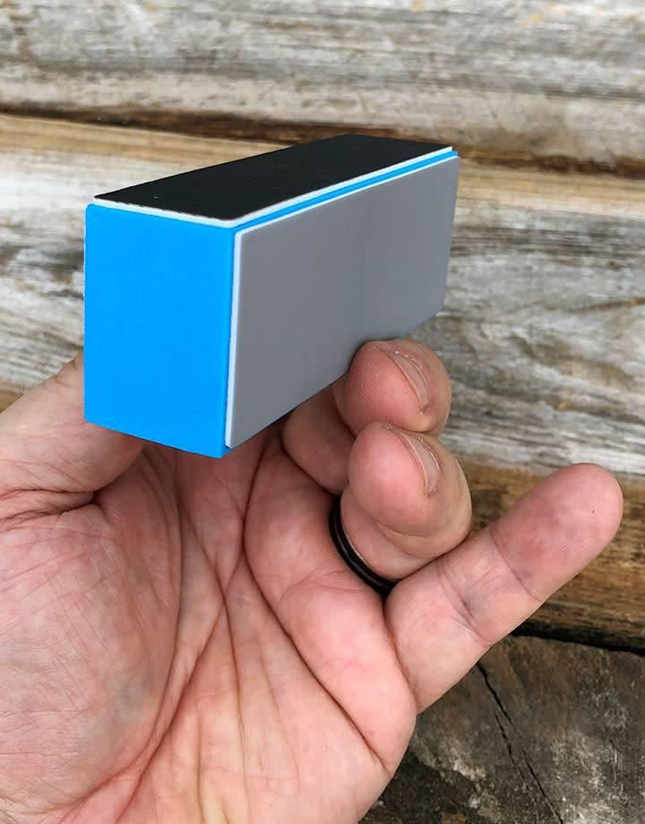 PS250 = Metal Polishing Block 3-1/2'' x 1-1/4'' x 1-1/4''
