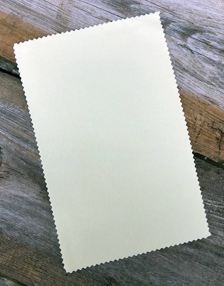 PS6500 = Sunshine Yellow Polishing Cloth 7-1/2'' x 5''