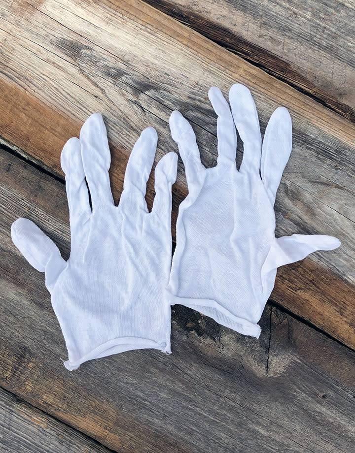 17.103 = Cotton Gloves Lightweight Small (Pkg of 12pair)