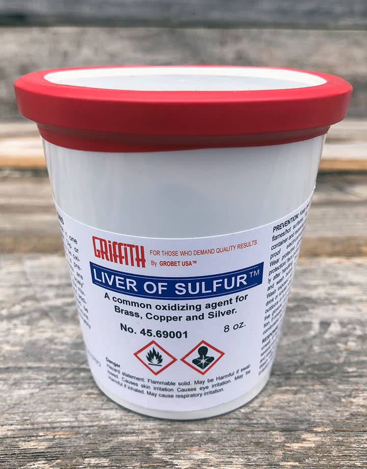 45.69001 = Griffith Brand Liver of Sulfur 8oz
