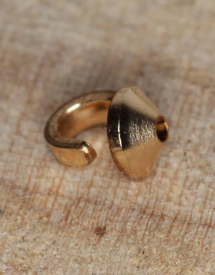 580F-01 = Gold Filled Bead Tip (Pkg of 10)