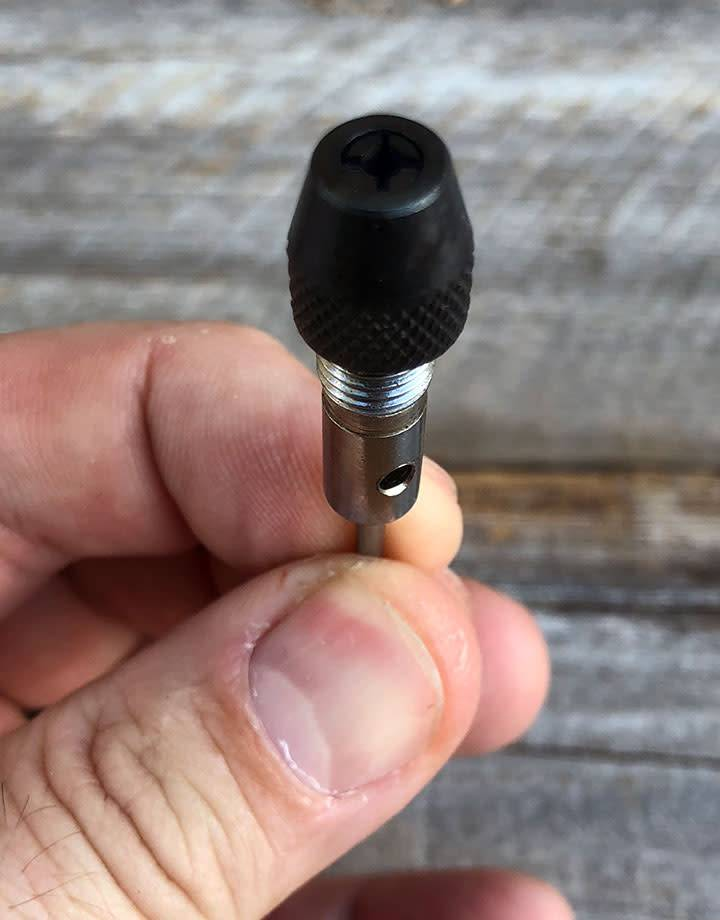 28.216 = DRILL CHUCK ADAPTER with 3/32'' SHANK