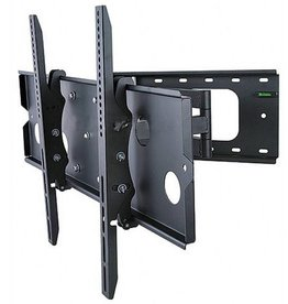 MonoPrice MonoPrice, Corner Friendly, Full-Motion TV Wall Mount Bracket (Max 125 lbs, 32 - 60 inch), 750x450