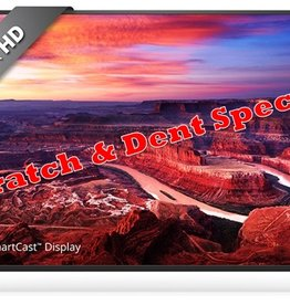 Vizio 50-Inch, VIZIO, LED, 2160P, 120Hz, 4K, Smart, Wifi, Chromecast, E50-E1, SCRATCH & DENT SPECIAL