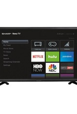 Sharp 32-Inch, SHARP, LED, 720P, 60Hz, Roku Smart TV, Wifi, LC-32LB591U, SCRATCH & DENT SPECIAL