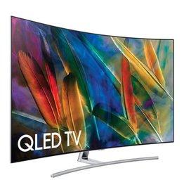Samsung 55-Inch, SAMSUNG, QLED, 2160P, 240Hz, Curved 4K Smart Wifi, QN55Q7CAMFXZA, SCRATCH & DENT SPECIAL