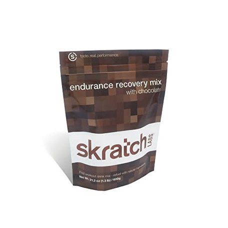 SKRATCH LABS Endurance Recovery Mix- Chocolate - 1.3 lb bag