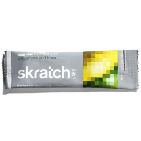 SKRATCH LABS Exercise Hydration Mix  Lemons + Lime single