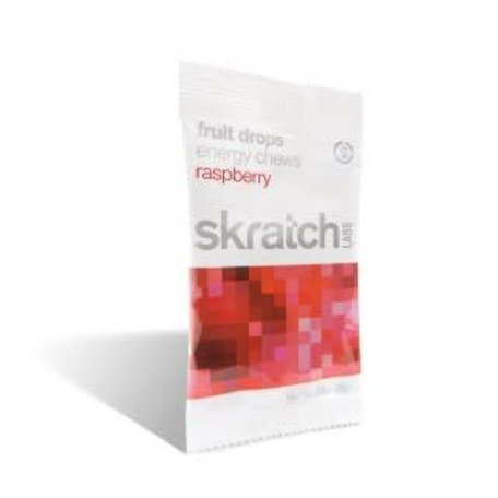 SKRATCH LABS Energy Chews Raspberry single