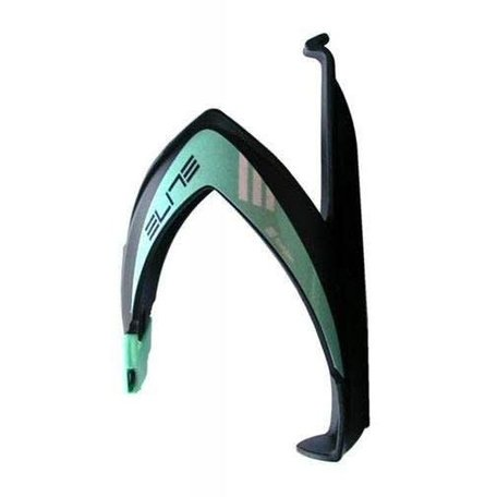 BIANCHI Elite Bottle cage black/celeste