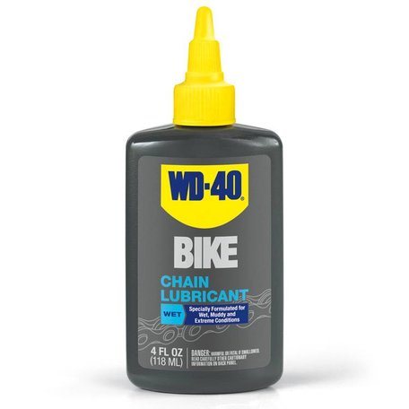 WD-40 Bike, Chain lubricant WET, 4oz