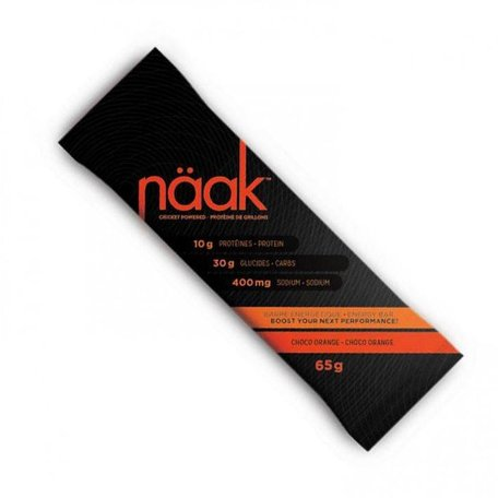 NAAK Energy Bars Choco Orange single