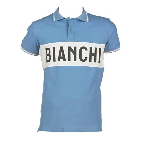 BIANCHI Polo Eroica Azzurri