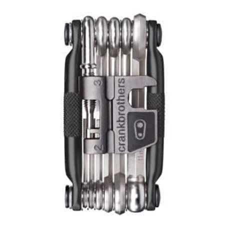CRANK BROTHERS Multi Tool 17 - Black / Silver