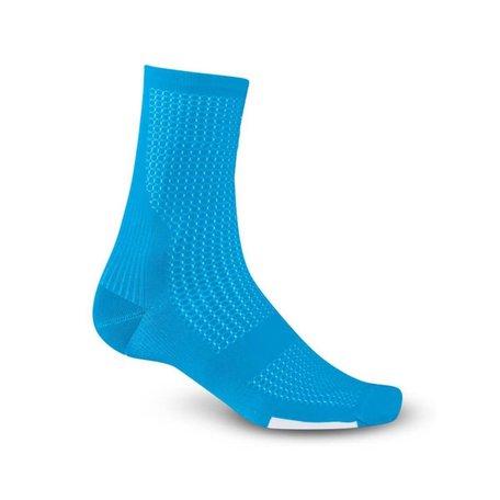 GIRO COOLMAX HIGH RISE BLUE JEWEL/WHITE  L