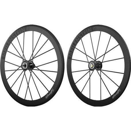 LIGHTWEIGHT Meilenstein Clincher Set Shimano- Black Edition