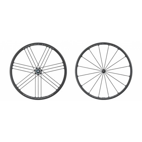 Campagnolo, Shamal Mille, Wheel, PAIR, 700C, 21 spokes, QR, 11spd., Campagnolo