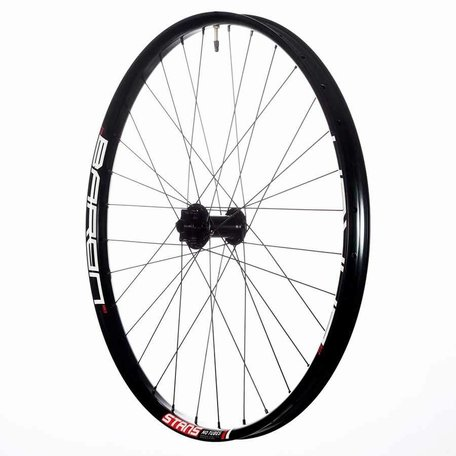 Stan's No Tubes, Baron MK3, Wheel, Front, 27.5'', 32 spokes, 15mm TA, 110mm, Disc