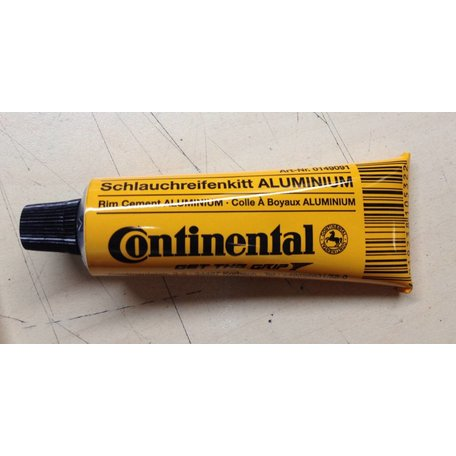 Continental Aluminum Rim Cement - 12 Tubes (25G) / Box single
