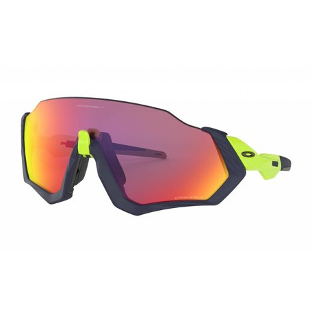 OAKLEY Flight Jacket - Matt Navy w/Prizm Road