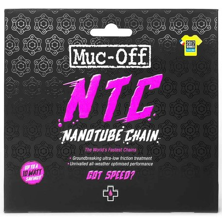 Muc-Off, Nanotube, Chain, 11sp., 114 links, SRAM Red