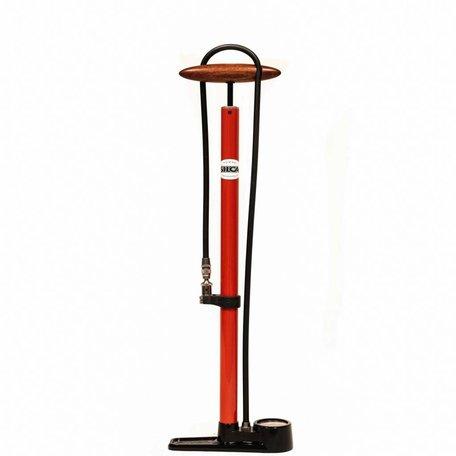 SILCA Pista Floor Pump - RED