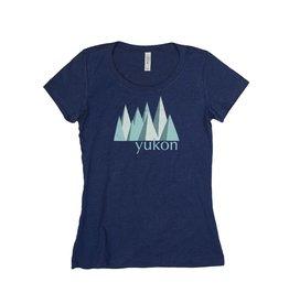 Women's Yukon Blue Mountain T-shirt