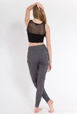 Sugar and Bruno Stretchy Mesh Crop Top
