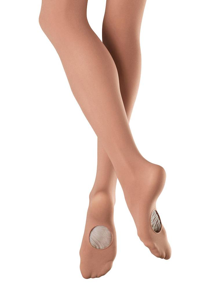 Bloch Ladies Elite Adaptatoe Tights
