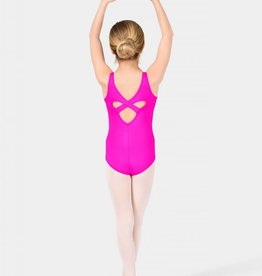 Motionwear Child Heart Back Tank Leotard in Silkskyn