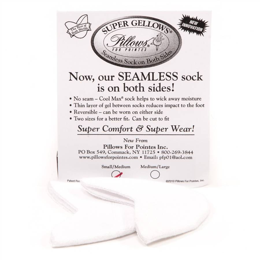 Pillows for Pointes Super Gellows Toe Pads