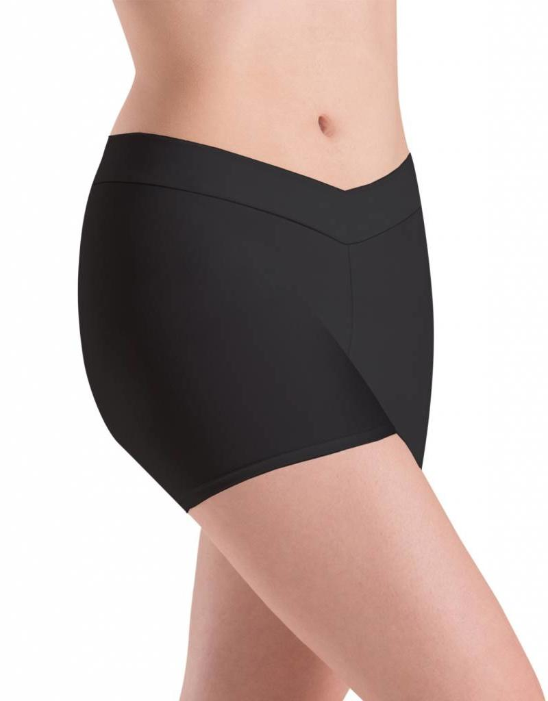 Motionwear V-Waist Shorts in Dri-line