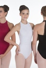 Suffolk Kate Leotard with Lace High Neck