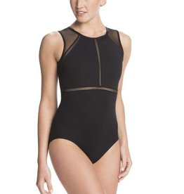 AinslieWear Coco Leotard with Mesh & Zoe Trim