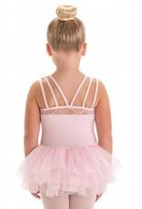 Motionwear Triple Strap Mesh Tutu Dress