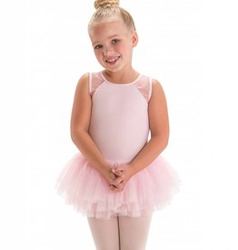 Motionwear Triple Strap Mesh Tutu Dress