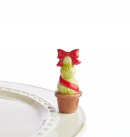 Nora Fleming Topper Topiary Red