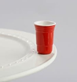 Nora Fleming Topper Red Solo Cup