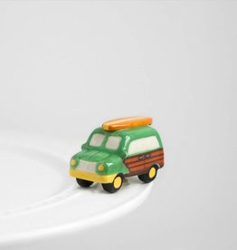 Nora Fleming Topper Woody Wagon
